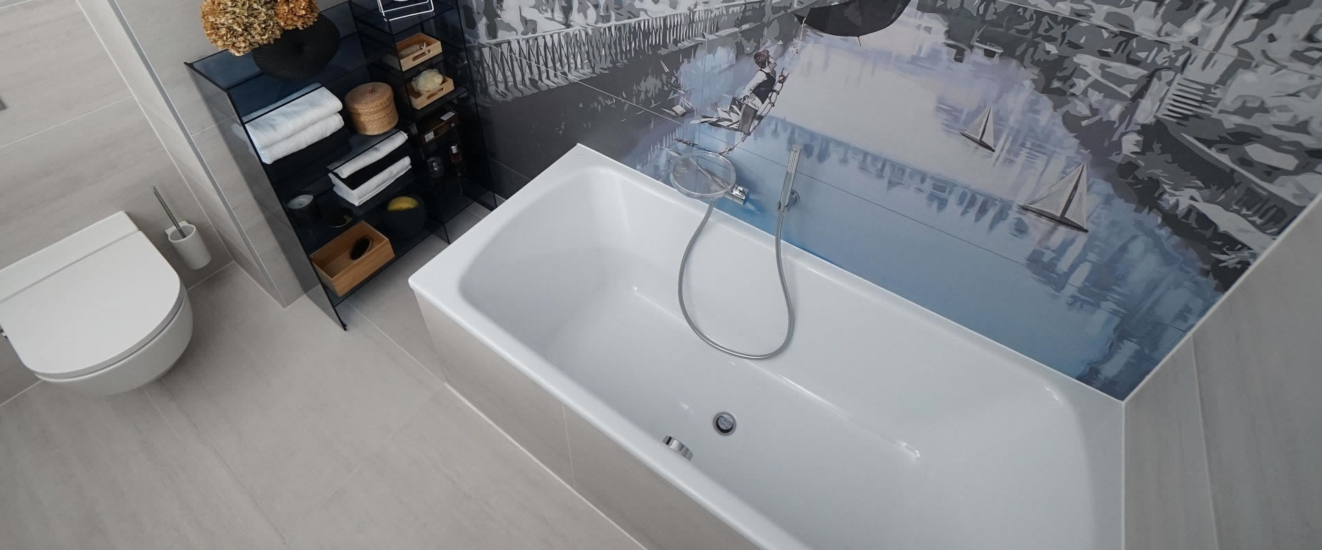 Kade od čelika pun su pogodak za uređenje kupaonice