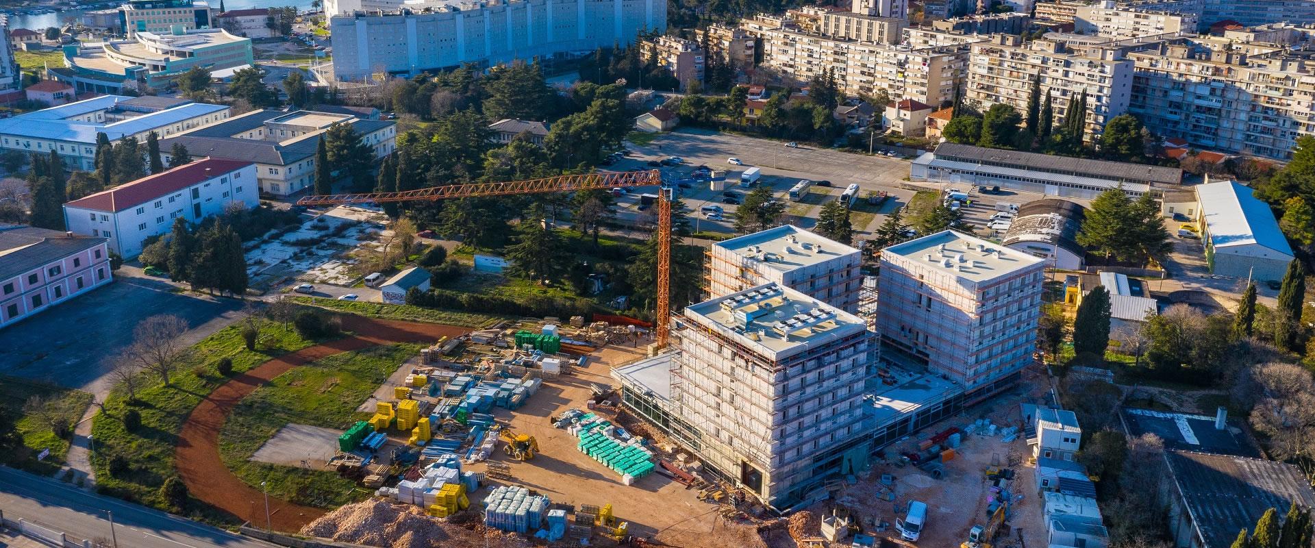 Zadar prati globalne trendove: Pogledajte projekt sveučilišne menze s dormitorijem!